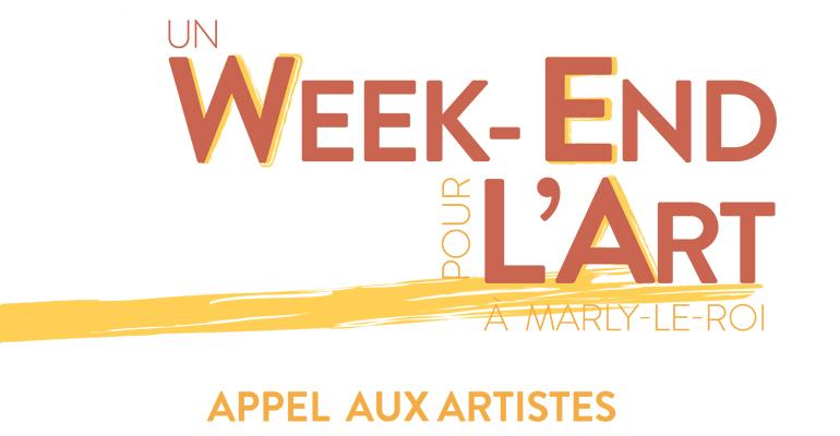 Appel à Artiste – Week-end pour l'art Marly le Roi