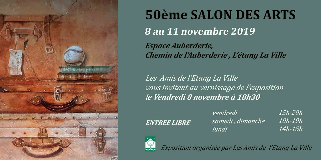 50ème Salon des Arts de l'Etang La Ville