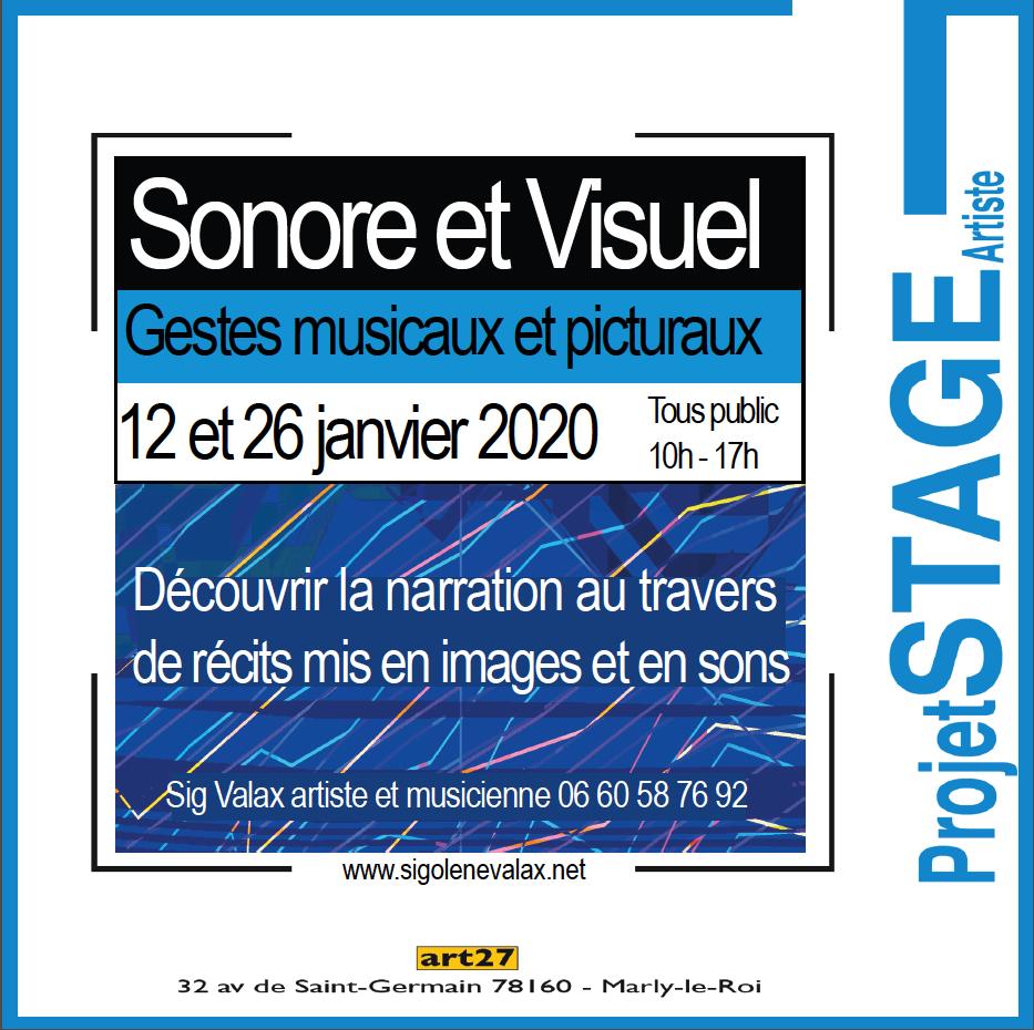 Atelier Sonore et Fabrique d'images