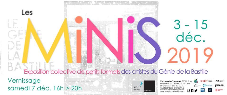 Expo Galerie du Génie : Les Minis 2019