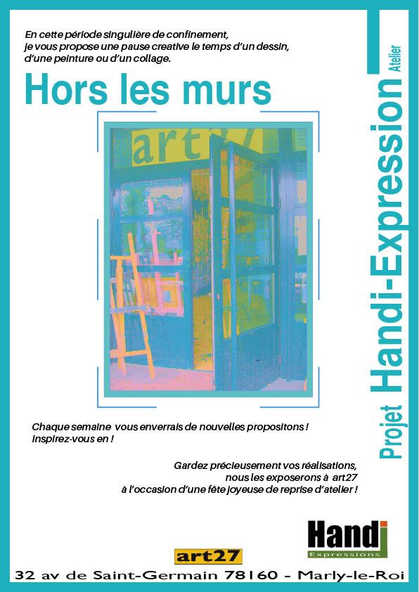 Période de confinement – Projet Hors les Murs atelier Handi-Expression